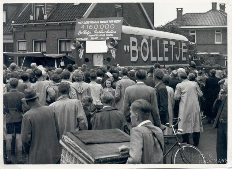 Historie van Bolletje